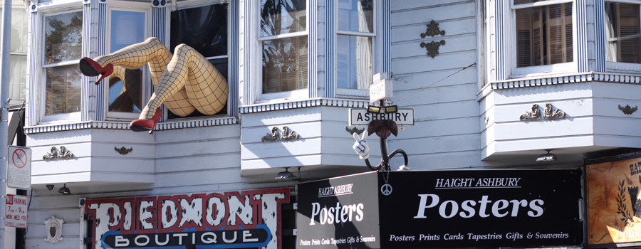Haight & Ashbury District :: San Francisco, CA, USA